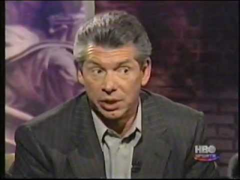 Bob Costas heated Vince McMahon interview pt 3