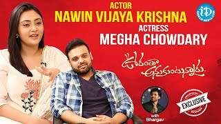 Actor Nawin Vijaya Krishna & Actress Megha Chowdary Full Interview || Talking Movies With iDream - IDREAMMOVIES