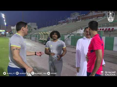 تدريبات الفريق الأول للنادي الأهلي _ الاربعاء 4 أبريل 2018 - عرب توداي