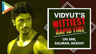 """FOX- Shah Rukh Khan, CHEETAH- Akshay Kumar"": Vidyut Jamwal | Junglee | Rapid Fire - HUNGAMA"