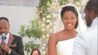 Nollywood - Stephanie Okereke And Linus Idahosa Wedding