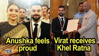 Virat receives Khel Ratna from President Kovind; Anushka feels proud - BOLLYWOODCOUNTRY