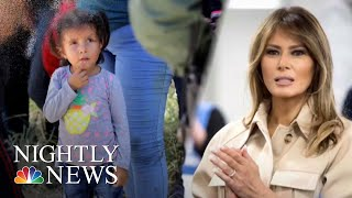 Protests Against Trump's Family Separation Policy As First Lady Weighs In | NBC Nightly News - NBCNEWS
