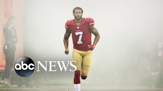 Colin Kaepernick Back on the Field Despite Critics Calling For His Removal - ABCNEWS