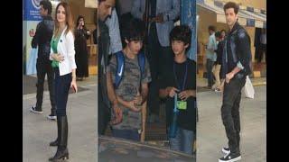 In Graphics: IN PICS: Hrithik Roshan and Sussanne Khan attend Hridhaan and Hrehaan's ann - ABPNEWSTV