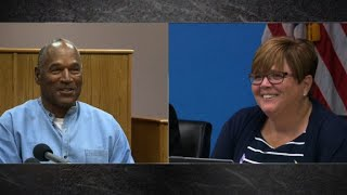See O.J. Simpson laugh with parole commissioner - CNN