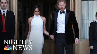 Prince Harry And Meghan Markle Celebrate With Private Reception After Wedding | NBC Nightly News - NBCNEWS