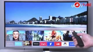 Видеообзор телевизора Samsung UE40KU6470U  с экспертом «М.Видео»