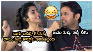 Rashmika Mandanna Making Hailours Fun About Lovers | Bheeshma Movie Interview | Nithin | TFPC - TFPC