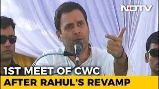 Rahul Gandhi To Chair Key Congress Meet; Discuss Roadmap For 2019 Polls - NDTV