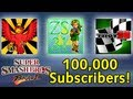 100k Subscriber Special: SSBB w/ RedFalconGames, ZeldasSavior31, and TWD98