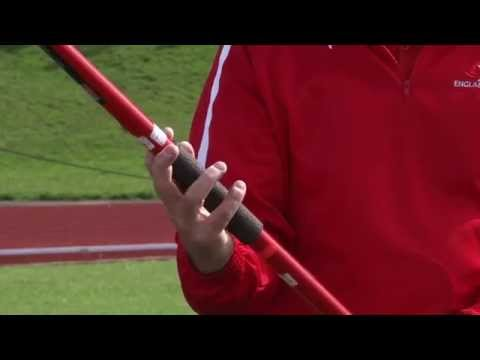 How to grip the Javelin