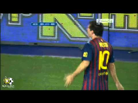 FC barcalona VS real madrid 2 1 messi 