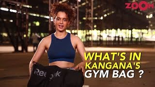 Kangana Ranaut  - What's In My Gym Bag?   Stars Offline - ZOOMDEKHO
