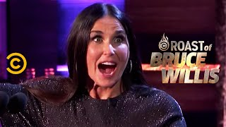 Demi Moore Decides to Drop By - Roast of Bruce Willis - COMEDYCENTRAL