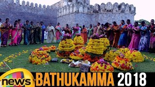 Bathukamma 2018 | Significance of Bathukamma 2018 | Navaratri Festival Updates | Mango News - MANGONEWS