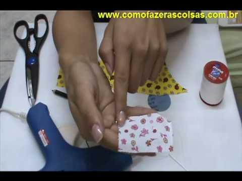 Como fazer uma flor de fuxico com as pétalas arredondadas - parte 1