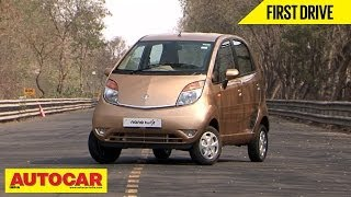 New Tata Nano Twist | First Drive Video Review | Autocar India