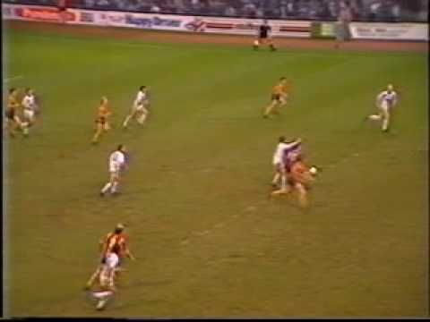 LUFC in the 80s Leeds v Bradford 1987 88
