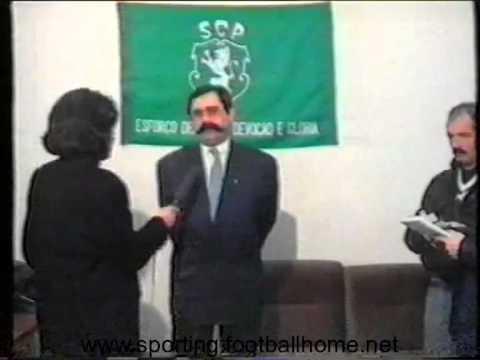 Entrevistas a Jorge Gonçalves e Vítor Damas, depois do V. Setúbal - Sporting em 1988/1989
