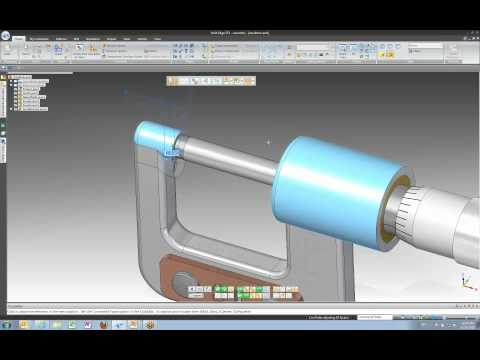 Intro to Solid Edge ST4 Lesson 3 - Solid Edge Assemblies