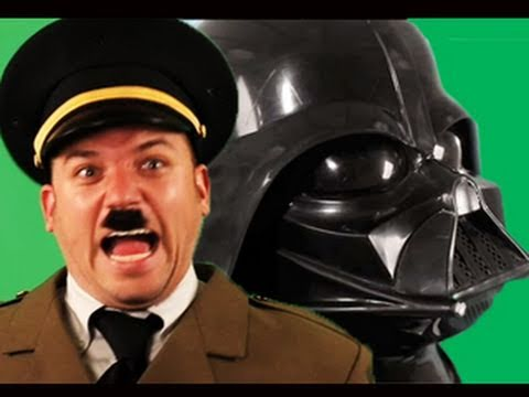 Darth Vader Vs Hitler Rap Battle