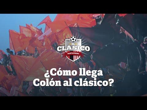 Clásico Santafesino: ¿Cómo llega Colón al partido?