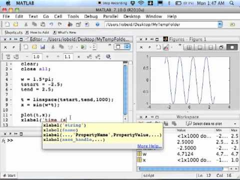 Matlab - Basic Plotting