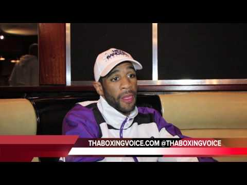 LAMONT PETERSON: A WIN VS MATTHYSSE MAKES ME # 1