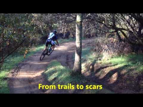 From Trail to Scar: Mountain Bikes at Folsom Lake