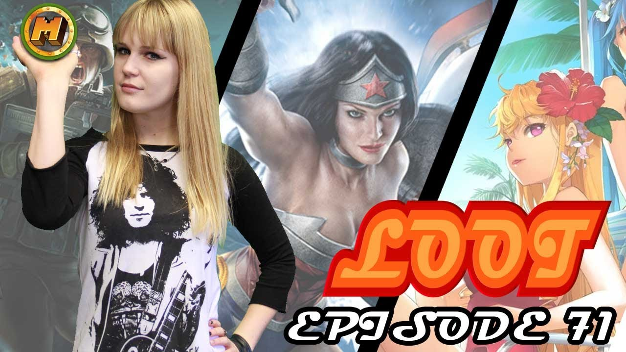 Infinite Crisis Catwoman, Sword Girls, Merc Elite and more! The Weekly Loot Ep 71