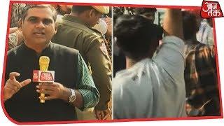 इधर कांग्रेस विधायकों की बैठक, उधर समर्थकों की नारेबाजी   Rajasthan Latest Updates - AAJTAKTV
