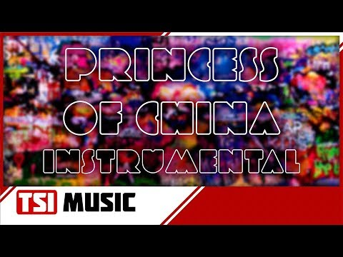 Coldplay - Princess Of China (Instrumental Studio Cover Version)