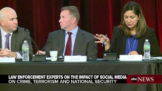 Law enforcement officials, privacy experts discuss social media at Rutgers Police Institute - ABCNEWS
