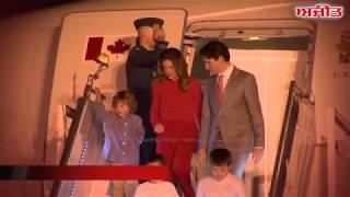 कैनेडा के प्रधानमंत्री जस्टिन ट्रूडो का भारत दौरा