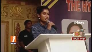 Indian Women's Cricket Team Captain Mithali Raj Felicitated By HCA In Hyderabad   iNews - INEWS