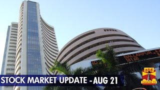 21-08-2014 Stock Market Update – 21 August, 2014