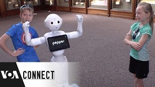 Pepper the Robot - VOAVIDEO