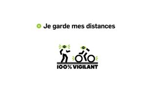 100% vigilant : Comme pi&eacute;ton ou cycliste, je garde mes distances des v&eacute;hicules lourds 