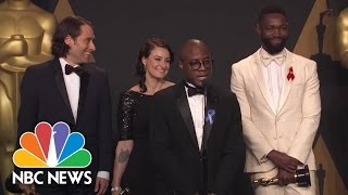 'Moonlight' Director Barry Jenkins: 'I'm Speechless' After Wild Best Picture Moment | NBC News - NBCNEWS