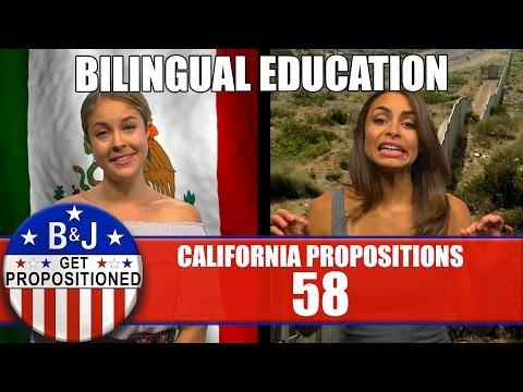Prop 58: Bilingual Education