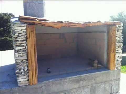 come costruire un barbecue in muratura e pietra