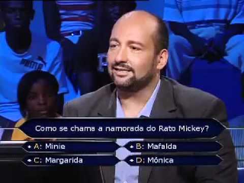 Quem Quer Ser Milionário? Angola (2) Namorada do Mickey!