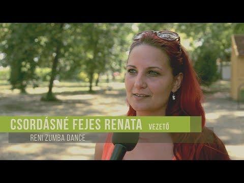 Reni Zumba Dance tábor Városi Strandfürdőben 2017.08.10.