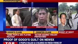 Golaghat SP admits that state force fired on protestors - NEWSXLIVE