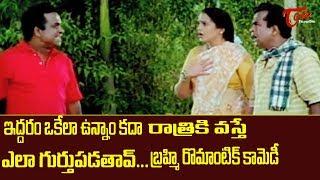 Brahmanandam Dual Role Comedy Scenes | Telugu Comedy Videos | NavvulaTV - NAVVULATV