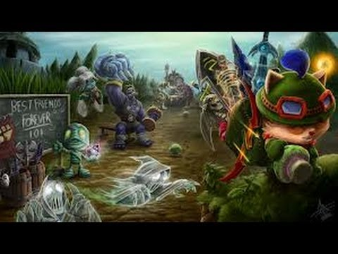 League of Legends-Nami kann squirten=)(1/2)-HD