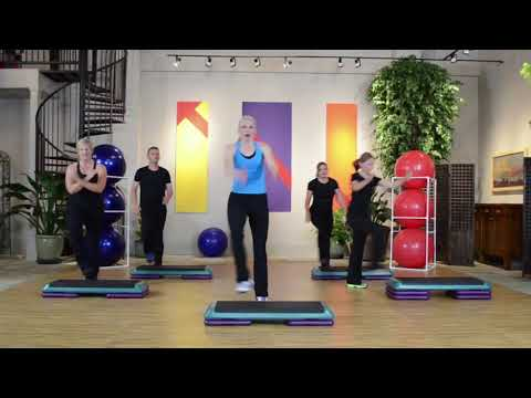 STEP AEROBICS - Step by Step 3 - Intermediate - JENNY FORD