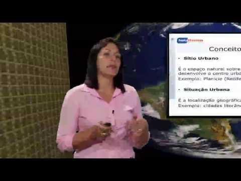 Videoaula de Geografia - Urbanização - Hierarquia urbana