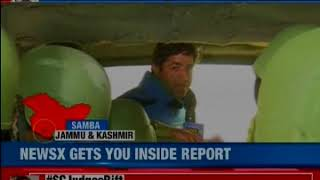 NewsX reports from Samba sector, Jammu and Kashmir - NEWSXLIVE